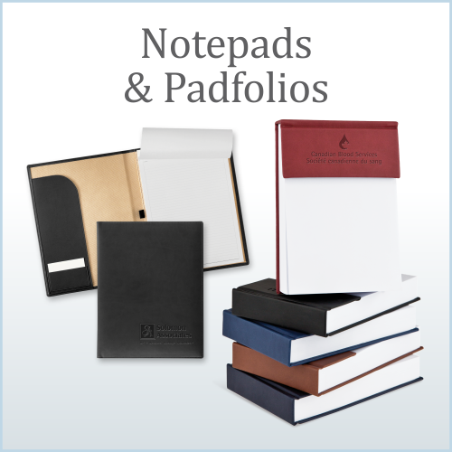 Notepads and Padfolios
